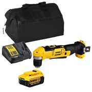 Dewalt DCD740ITS Dewalt DCD740ITS 18V XR Angle Drill with 1 x 4Ah Battery, Charger and Bag