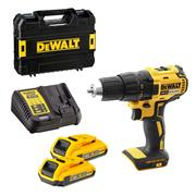 Dewalt 18v XR Brushless Drill Driver with 2 x 2Ah Batteries, Charger and Case