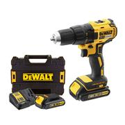 Dewalt DCD777S2 18v XR Brushless Drill Driver with 2 x 1.5Ah Batteries, Charger and Case