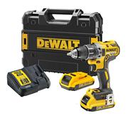 Dewalt DCD791D2 18v XR Brushless Drill Driver with 2 x 2Ah Batteries, Charger and Case