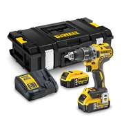 Dewalt DCD791P2 18v XR Brushless Drill Driver with 2 x 5Ah Batteries, Charger and Case