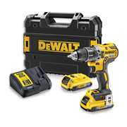 Dewalt DCD796D2B 18v XR Brushless 2nd Gen Combi Drill with 2 x 2Ah BT Batteries, Charger and Case