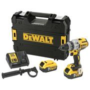 Dewalt DCD991P2 Dewalt DCD991P2 18V XR Brushless Drill Driver with 2 x 5Ah Batteries, Charger and Case