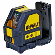 Dewalt DCE088NR Dewalt 10.8v Li-ion Red Cross Line Laser - Body Only