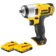 Dewalt DCF813D2 Dewalt 10.8v Lithium-Ion Cordless Impact Wrench