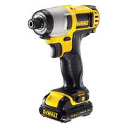 Dewalt DCF815D2 12v XR Impact Driver with 2 x 2Ah Batteries, Charger and Case