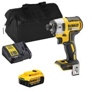 Dewalt DCF887ITS 18v XR Brushless Impact Driver with 1 x 4Ah Battery, Charger and Bag