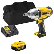 Dewalt DCF899HITS Dewalt DCF899HITS 18V XR Brushless 1/2'' Impact Wrench with 1 x 4Ah Battery, Charger and Bag