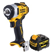Dewalt DCF901P1 Dewalt DCF901P1 12v XR Brushless 1/2''Impact Wrench with 1x 5Ah Battery''