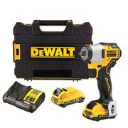 Dewalt DCF902D2 Dewalt DCF902D2 12v XR Brushless 3/8'' Impact Wrench with 2 x 2Ah Batteries, Charger and Case