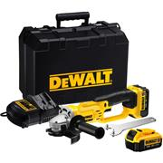 Dewalt DCG412M2 Dewalt DCG412M2 18V XR 125mm Grinder with 2 x 4Ah Batteries, Charger and Case