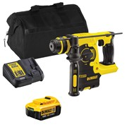 Dewalt DCH253ITS Dewalt DCH253ITS 18V XRP SDS+ Rotary Hammer Drill with 1 x 4Ah Battery, Charger and Bag