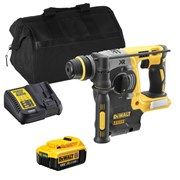 Dewalt DCH273ITS Dewalt DCH273ITS 18V XR Brushless SDS+ Drill with 1 x 4Ah Battery, Charger and Bag