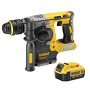 Dewalt DCH274ITS Dewalt DCH274ITS 18V XR Brushless SDS+ Drill with 1 x 4Ah Battery, Charger and Bag