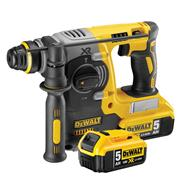 Dewalt DCH274P2 18v XR Brushless SDS+ Drill with 2 x 5Ah Batteries, Charger and Case