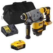 Dewalt DCH283ITS Dewalt DCH283ITS 18V XR Brushless SDS+ Rotary Hammer Drill with 1 x 4Ah Battery, Charger and Bag