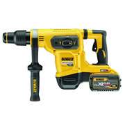 Dewalt DCH481X2 54v XR FLEXVOLT SDS-Max Rotary Demolition Hammer with 2 x 3Ah Batteries, Charger and Case