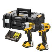 Dewalt DCK20110L2T 12v XR Brushless 2 Piece Kit with 2 x 3Ah Batteries, Charger and Case