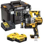 Dewalt DCK229P2T Dewalt DCK229P2T 18V XR Brushless Combi Drill and SDS+ with 2 x 5Ah Batteries, Charger Case