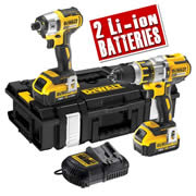 Dewalt DCK255M2 Dewalt 18v 4.0ah Li-ion Brushless 2 Piece Kit (2 batteries)