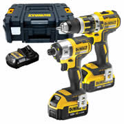 Dewalt DCK259M2T Dewalt 18v XR Brushless Twin Pack