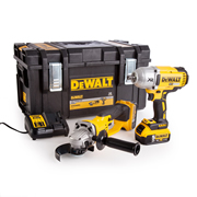 Dewalt DCK269P2 Dewalt DCK269P2 18V XR 2 Piece Kit with x 5Ah Batteries, Charger and Case