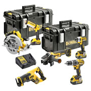 Dewalt DCK623P3-GB Dewalt 18V XR Brushless Compact 6 Piece Kit