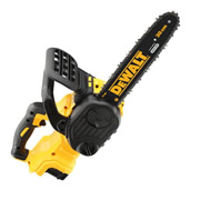 Dewalt DCM565P1-GB Dewalt 18V XR Brushless 30cm Chainsaw 1 x 5.0Ah Battery
