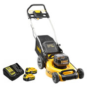 Dewalt DCMW564P2 Dewalt DCMW564P2 18V XR Brushless 48cm Lawnmower with 2 x 5.0Ah Batteries