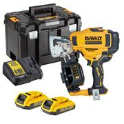 Dewalt DCN45RND2 18V XR Coil Roofing Nail Gun with 2x 2Ah Batteries, Charger and Case