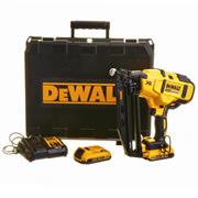 Dewalt DCN660D2 18v XR Brushless Second Fix Finishing Angled Nail Gun with 2 x 2Ah Batteries, Charger and Case
