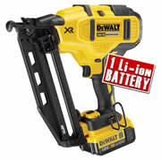 Dewalt DCN660N4 Dewalt 18v Li-ion Brushless 2nd Fix Finish Nailer - Body + 1 x 4.0Ah Battery
