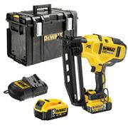Dewalt DCN660P2 Dewalt DCN660P2 18V XR Brushless 2nd Fix Finishing Nail Gun + 2 x 5Ah Batteries, Charger and Case