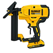 Dewalt DCN682D2-GB Dewalt 18v XR Brushless 18G Flooring Stapler 2 x 2.0Ah Batteries
