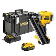 Dewalt DCN692P2 18v XR First Fix Framing Nail Gun with 2 x 5Ah Batteries, Charger and Case
