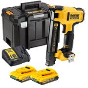 Dewalt DCN701D2 18v XR Electricians Stapler with 2 x 2Ah Batteries, Charger and Case