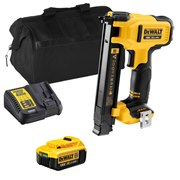 Dewalt DCN701ITS 18v XR Electricians Stapler with 1 x 4Ah Battery, Charger and Bag