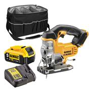 Dewalt DCS331CB 18v Li-ion XR Jigsaw - 1 x 5Ah With Bag