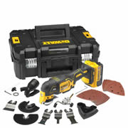 Dewalt DCS355M1 18v XR li-ion Brushless Oscillating Multi-Tool - 4.0Ah