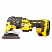 Dewalt DCS355N4 Dewalt 18v XR Brushless Multi-Tool with 29 Accessories Body + 1 x 4.0ah Battery