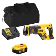 Dewalt DCS367ITS Dewalt DCS367ITS 18V XR Compact Reciprocating Saw with 1 x 4Ah Battery, Charger and Bag
