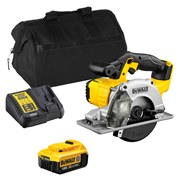 Dewalt DCS373ITS 18v XR 140mm Metal Cutting Saw with 1 x 4Ah Battery, Charger and Bag