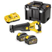 Dewalt DCS388T2 Dewalt DCS388T2 54v XR FLEXVOLT Reciprocating Saw with 2 x 2Ah Batteries, Charger and Case