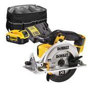 Dewalt DCS391 18v XR 165mm Li-ion Circular Saw + 1 x 5.0Ah With Bag