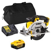 Dewalt DCS391ITS Dewalt DCS391ITS 18V XR 165mm Circular Saw with 1 x 4Ah Battery, Charger and Bag