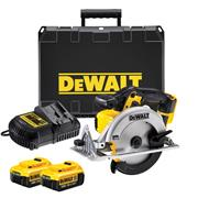 Dewalt DCS391M2 Dewalt DCS391M2 18V XR 165mm Circular Saw with 2 x 4Ah Batteries, Charger and Case