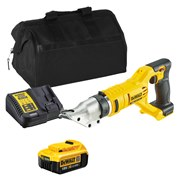 Dewalt DCS491ITS 18v XR Metal Shears with 1 x 4Ah Battery, Charger and Bag