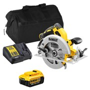 Dewalt DCS570ITS Dewalt DCS570ITS 18V XR Brushless 184mm Circular Saw with 1 x 4Ah Battery, Charger and Bag