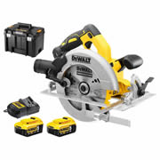 Dewalt DCS570P2 Dewalt 18V XR Brushless 184mm Circular Saw with 5.0Ah Battery