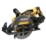 Dewalt DCS577T2 Dewalt DCS577T2 54V XR FLEXVOLT 190mm Worm Drive Style Saw with 2 x 2Ah Batteries, and Charger